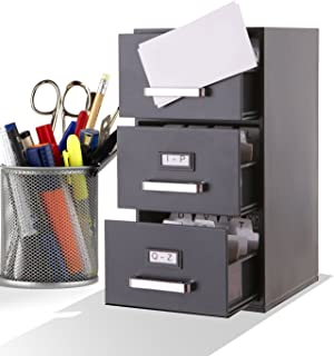 Best 3x5 card file cabinet Reviews