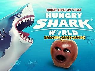 Clip: Midget Apple Let's Play - Hungry Shark World (Annoying Orange Gaming)