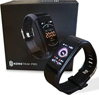 KoreHealth Smart Watch Fitness Tracker - KoreTrak Fitness Tracker Health Watch with Blood Pressure and Heart Rate Monitor...