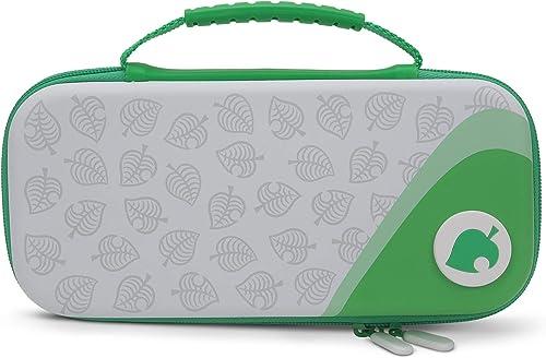 PowerA Custodia di Protezione per Nintendo Switch O Nintendo Switch Lite - Animal Crossing: Nook Inc, Custodia di Pro...