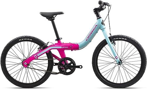 ORBEA Grow 2 Kinder Fahrrad 20 Zoll 1 Gang Rad Aluminium mitwachsend einstellbar, G00320K