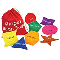 Deals on Educational Insights Shapes Beanbags Learning Toy Set of 8