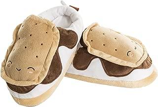 Smoko Heated Smores Slippers   USB Electric Foot Warmers   Plush Kawaii Slip Ons