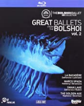 Great Ballets from the Bolshoi, Vol. 2 - La Bayadere, Marco Spada, Swan Lake, The Golden Age