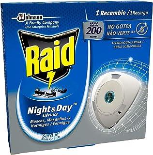 Raid - Night & Day repelente de moscas, mosquitos y hormigas, recambio