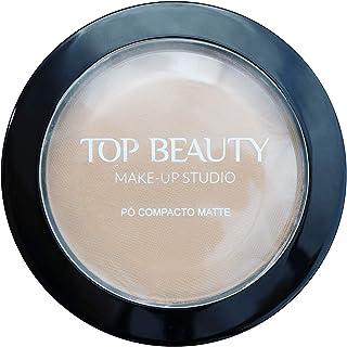Pó Compacto Top Beauty 03 10 Gr, Top Beauty