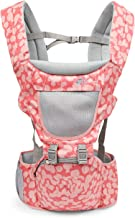2019 Baby Carrier Infant Baby Hipseat Carrier Front Facing Ergonomic Kangaroo Baby Wrap Sling for Baby Travel 0-3 Years Old,Pink