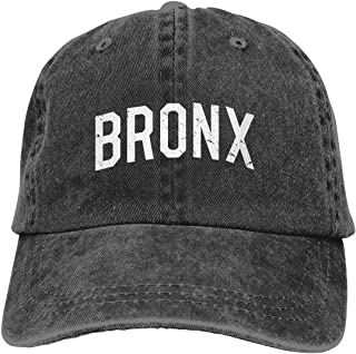 Vintage Bronx Unisex Adjustable Cowboy Hats Denim Hats Dad Hat Baseball Cap
