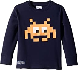 Digital Monster Long Sleeve Tee (Toddler/Little Kids/Big Kids)