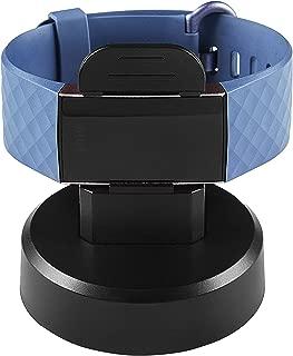 PINHEN Fitbit charge3対応 充電器 充電スタンド アクセサリー 充電クレードル ホルダー データ転送 1M/USB ケーブル (Charge 3充電スタンド)