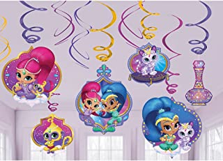 Foil Swirl decoration | Shimmer and Shine™ Collection | Party Accessory