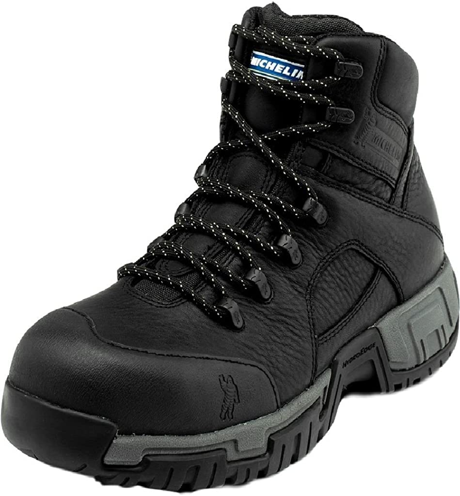 Xhy866 MICHELIN Mens Hydroedge Puncture Resistant Waterproof Work Boot Steel Toe