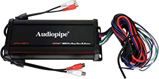 Audiopipe 1200W 4-Ch Micro Amp - Powersports IP67 Waterproof RZR Motorcycle UTV Marine Amplifier