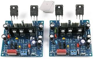 KTB817 + KTD1047 2pcs MX50 SE Dual 2.0 Channel Amplifier Board 100W+100W Finshined