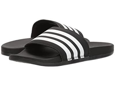 adidas Adilette Comfort (Black/White/Black 2) Women