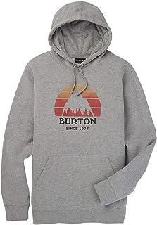 Burton Classic Mountain Full-Zip Felpa con Cappuccio Unisex Bambini
