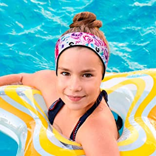 Will & Fox, Swimming Headband Ear Band for Kids + Earplugs