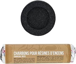 Charbons pour résine d'encens, chicha, narghile, hooka - Les encens du Monde