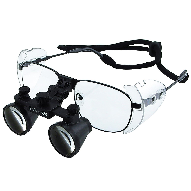 2.5X In stock Magnification Dental Loupes Galilean Style Binocular Spasm price 100m