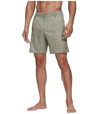 adidas Versatile Shorts Classic Length Swimwear (Legacy Green) Men