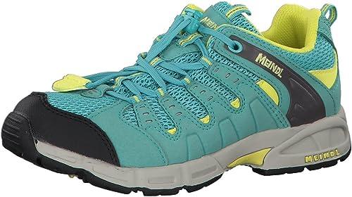 Meindl 2044 64, Chaussures de Ville à Lacets pour Garçon Mint-jaune