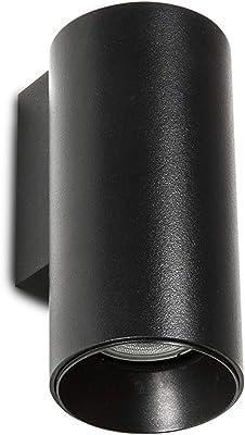 Luz de pared Smartwares 5000.464 Mika - LED doble - Acero ...