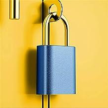 Vingerafdruk Hangslot Vingerafdruk Deurslot Hangslot USB Opladen IPX7 Waterdicht Keyless Anti Diefstal Reizen Bagage Lade ...