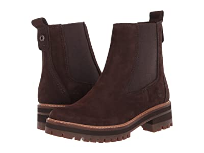 Timberland Courmayeur Valley Chelsea (Dark Brown Nubuck) Women