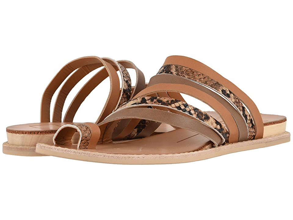 Dolce Vita Nelly (Tan Multi Leather) Women's Sandals