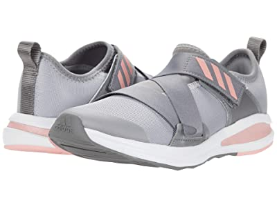 adidas Kids FortaRun X (Little Kid/Big Kid) (Grey Three/Glory Pink/Grey Two) Girls Shoes