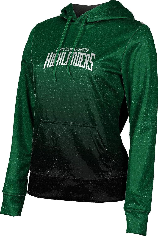 ProSphere Granada Hills Charter High School Girls' Pullover Hoodie, School Spirit Sweatshirt (Ombre)
