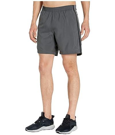 adidas Response 7 Shorts (Grey Six/Black) Men