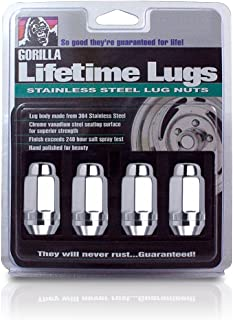 Gorilla Automotive 96187SS Duplex Acorn Stainless Steel Lifetime Lug Nuts (1/2