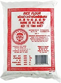 Thai Rice Flour Gluten Free 6 Pack, Great for Cooking & Baking. Erawan Brand Rice Flour (6)