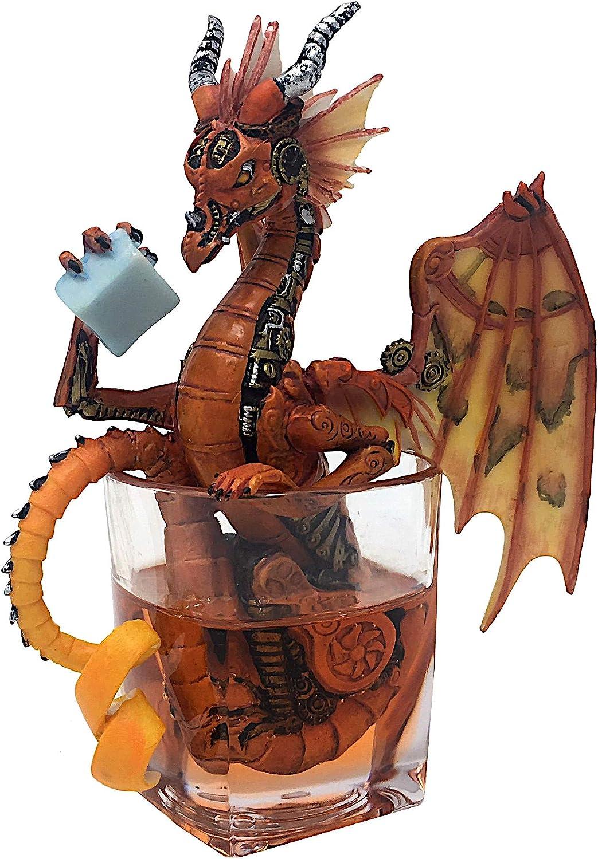 Mayer Chess Steampunk Dragon by Stanley Morrison  Figurine, Fantasy, Dragon