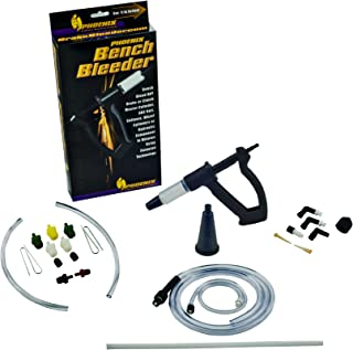 Phoenix Systems (2005-B) Bench Brake Bleeder Kit, One Person Bleeder, Fits All Makes and Models