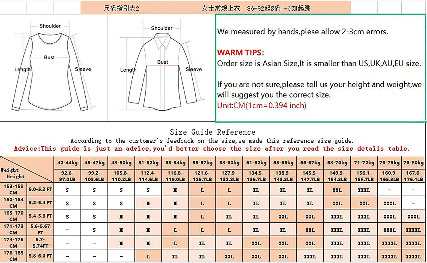 ORT Womens Summer Tops Zip Up, Womens V Neck T Shirts Heart Printed Long Sleeve Loose Tunic Casual Plus Size Sweatshirt Top