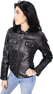 Slim Fit Womens Quilted Coated Functional Jacket 98115-16VW