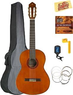 Yamaha CGS103A 3/4-Size Classical Guitar Bundle with Gig Bag, Tuner, Strings, String Winder, Austin Bazaar Instructional DVD, and Polishing Cloth