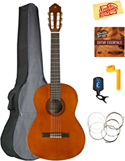 Yamaha CGS103A 3/4-Size Classical Guitar Bundle with Gig Bag, Tuner, Strings, String Winder, Austin Bazaar Instructional DVD, and Polishing Cloth