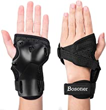 BOSONER Wrist Guards for Adults/Kids Wristsavers Impact Sport Wrist Support Protective Gear for Skateboarding Skating Snow...