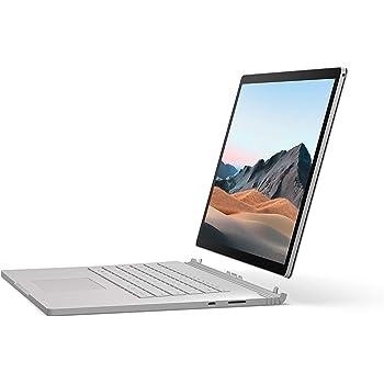 """Microsoft Surface Book 3, 15"""" Argent (Core i7, 32Go de RAM, GPU 512Go, Windows 10 Home S) - Clavier AZERTY Français"""