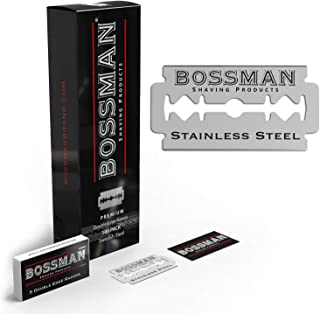 BOSSMAN DOUBLE EDGE REPLACEMENT BLADES (100 PACK)