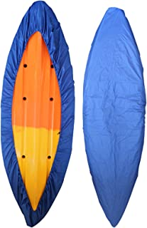RONGT Kayak Canoe Cover Waterproof Canoe Storage Dust Sunblock Cover Offers UV Protection for Fishing Boat, Hobie Pro Angler, Rowing Shell Paddle Board 7 Sizes