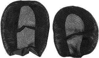 Cubierta de asiento de motocicleta Qiilu, cubierta de nylon transpirable para asientos de motocicleta Protector de malla para refrigeración por agua R1200GS