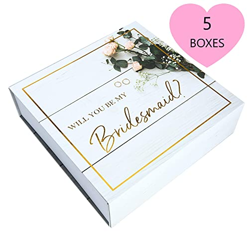 Gift Boxes For Bridesmaids Amazon Com