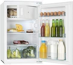 Klarstein Coolzone 120 - nevera con congelador, refrigerador de 61 l, congelador de 24 l, termostato ajustable, 88 cm de altura, potencia nominal de 80 W, iluminación interior, blanco