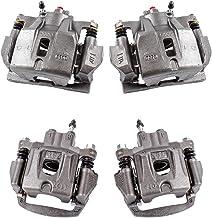 Callahan CCK04159 [4] FRONT + REAR Premium Semi-Loaded Original Calipers + Hardware Brake Kit