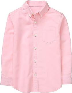 Gymboree Boys' Little Long Sleeve Button Up Shirt