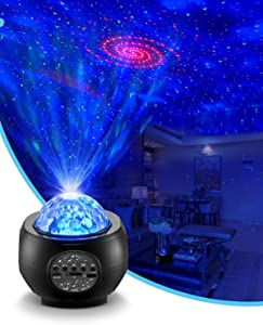 LED Laser Star Galaxy Projector - Galaxy Lighting, Nebula Lamp for Gaming Room, Home Theater, Bedroom Night Light,Birthday Gift,Music Star Light with Remote Control.